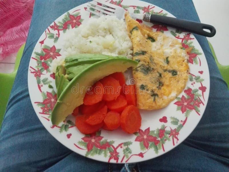 Апельсин сока здоровья завтрака витальности еды стоковые фотографии rf