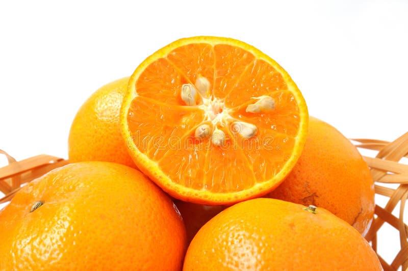 Download Апельсины стоковое фото. изображение насчитывающей плодоовощ - 33734094