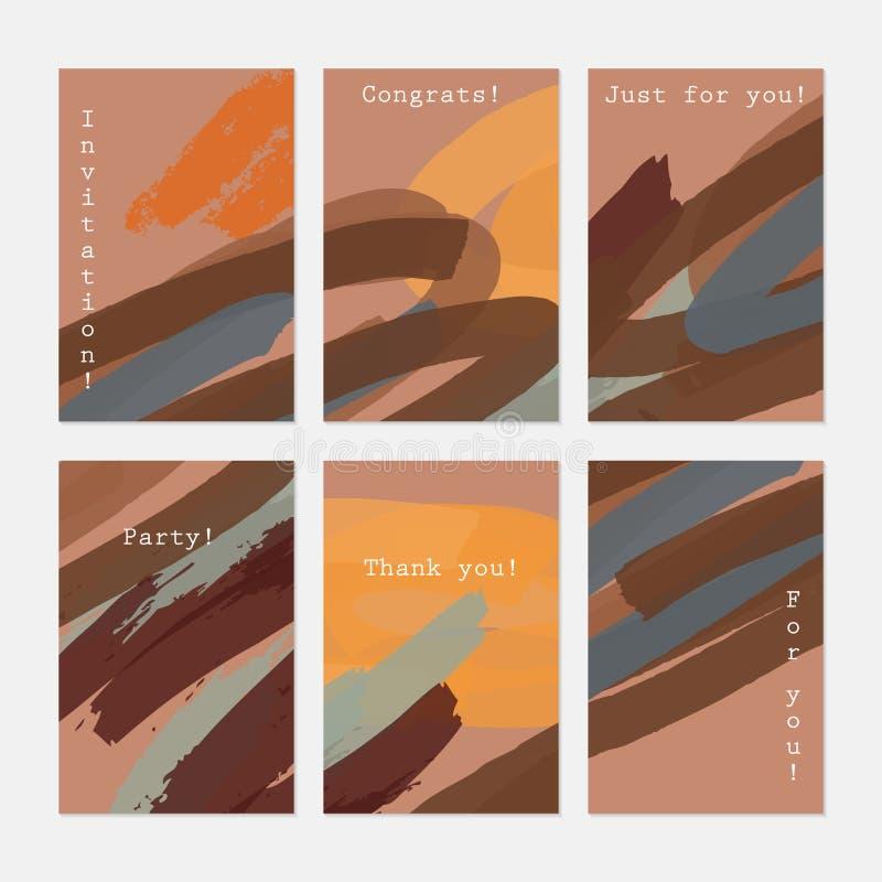 Апельсин абстрактных ходов отметки русый бесплатная иллюстрация