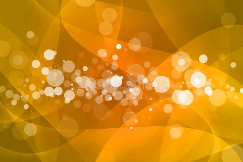 Апельсин с предпосылкой конспекта bokeh бесплатная иллюстрация