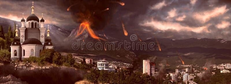 апокалипсис 2012 стоковое фото