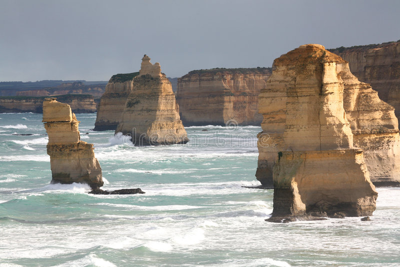 апостолы Австралия 12 стоковые фотографии rf