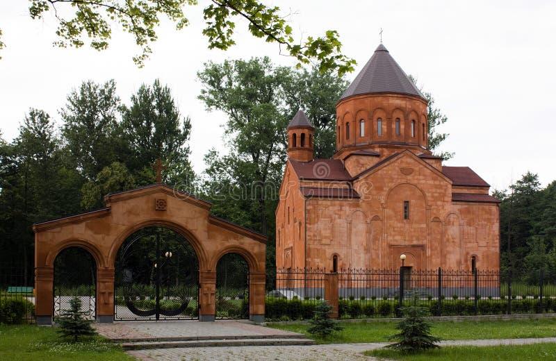 апостольская армянская церковь стоковая фотография rf
