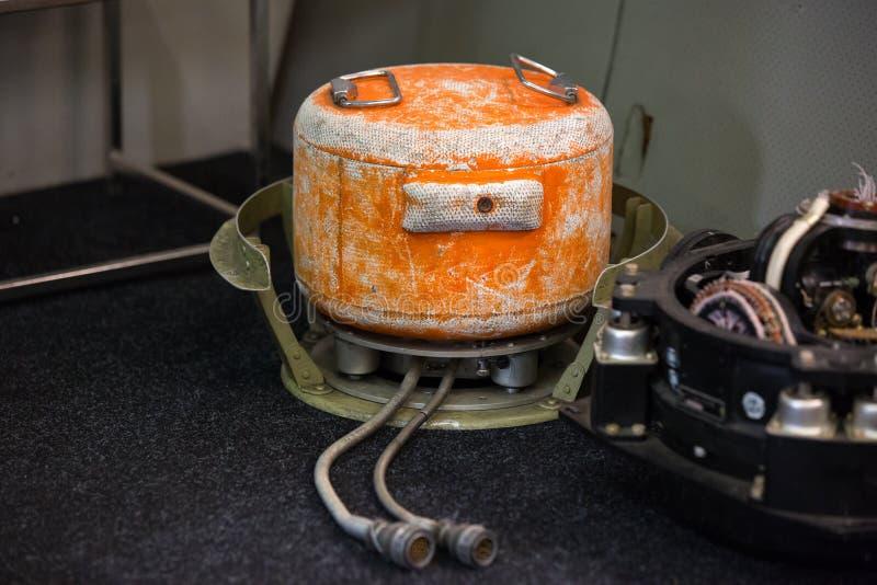 Аппаратура записи переговоров членов экипажа воздушных судн стоковые фотографии rf