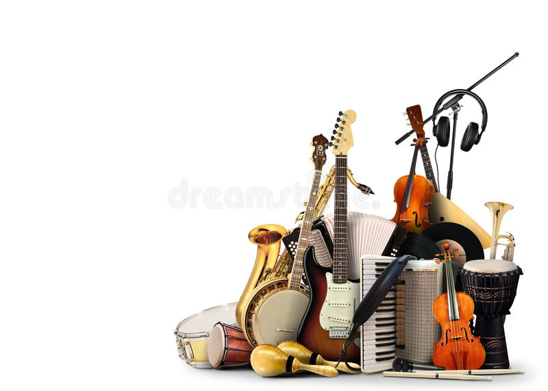 аппаратуры музыкальные стоковые фото