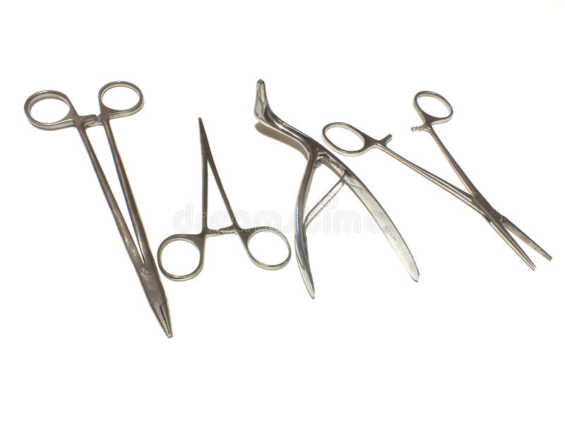 аппаратуры хирургические стоковая фотография