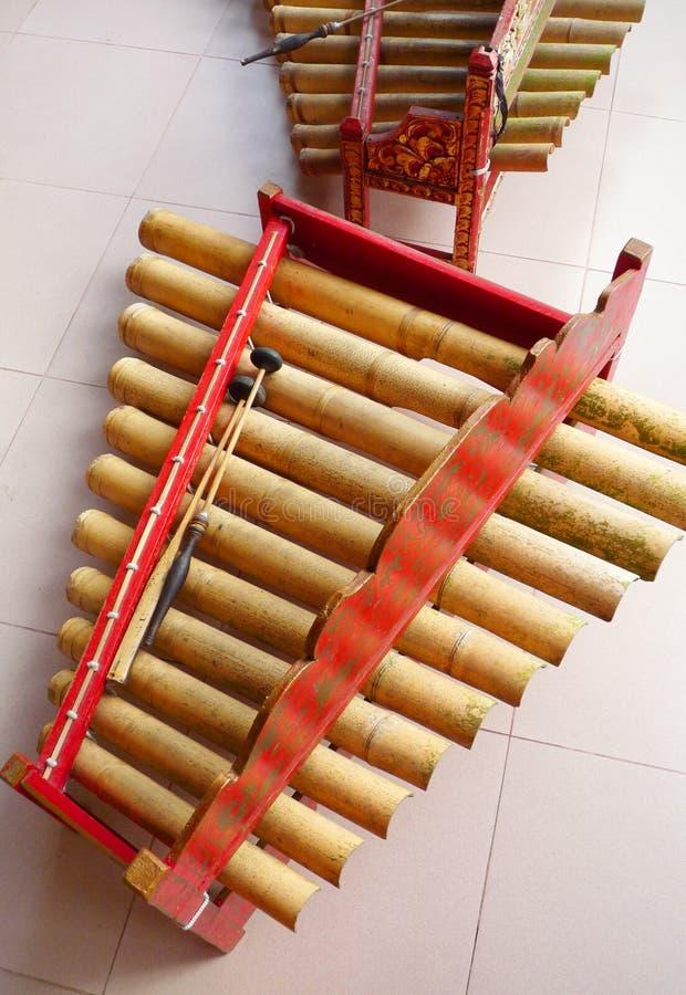 аппаратуры bali gamelan музыкальные стоковые фото