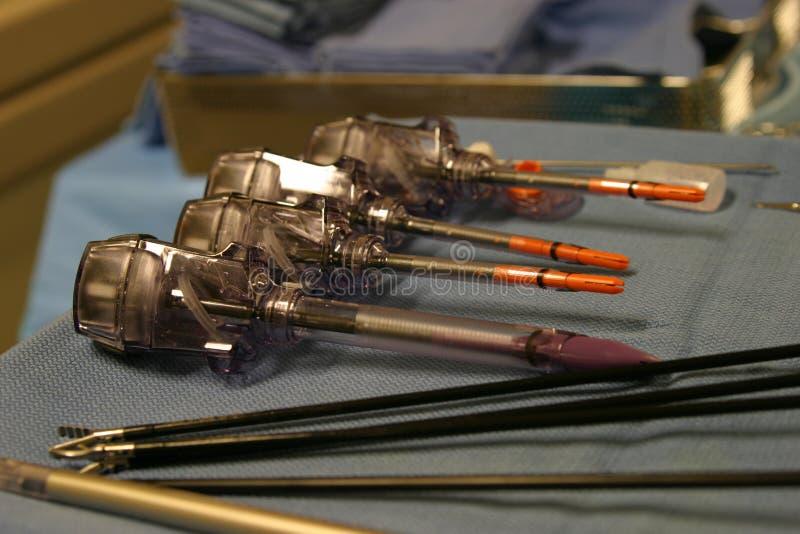 аппаратуры laparoscopic стоковое изображение