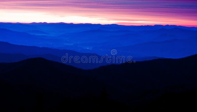 аппалачские горы стоковые фотографии rf