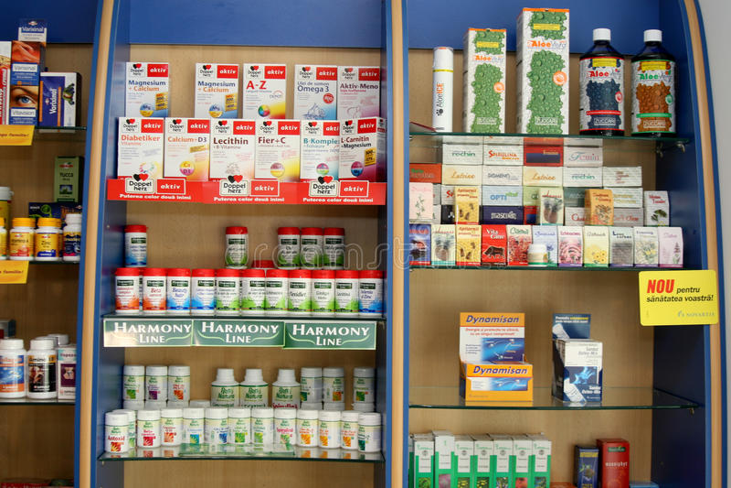 Аптека стоковые фотографии rf