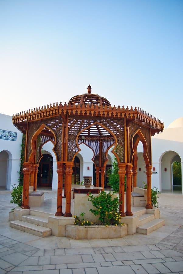 арабская гостиница зодчества стоковое фото