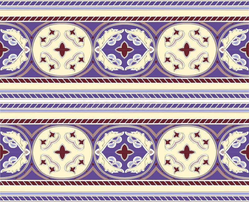 Арабская картина орнамента звезды mosaica стоковая фотография