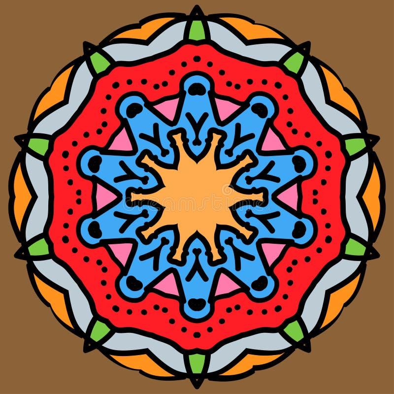 Арабская мандала стоковые фото