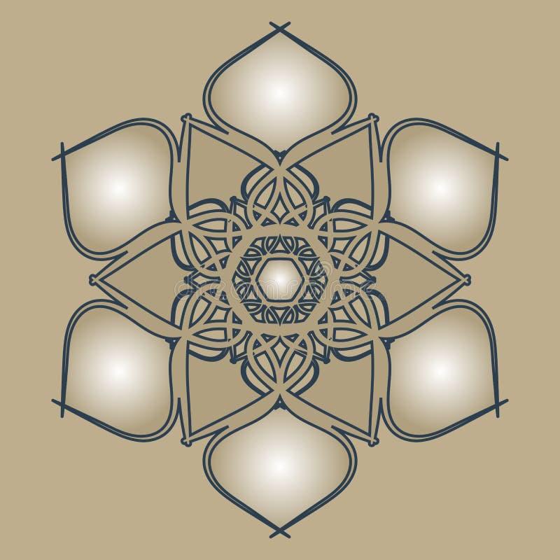 Арабская мандала стоковая фотография
