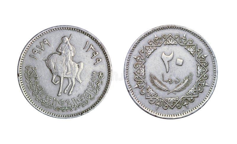 Арабская старая монетка стоковое изображение