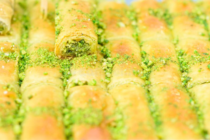Арабские помадки в рынке стоковая фотография
