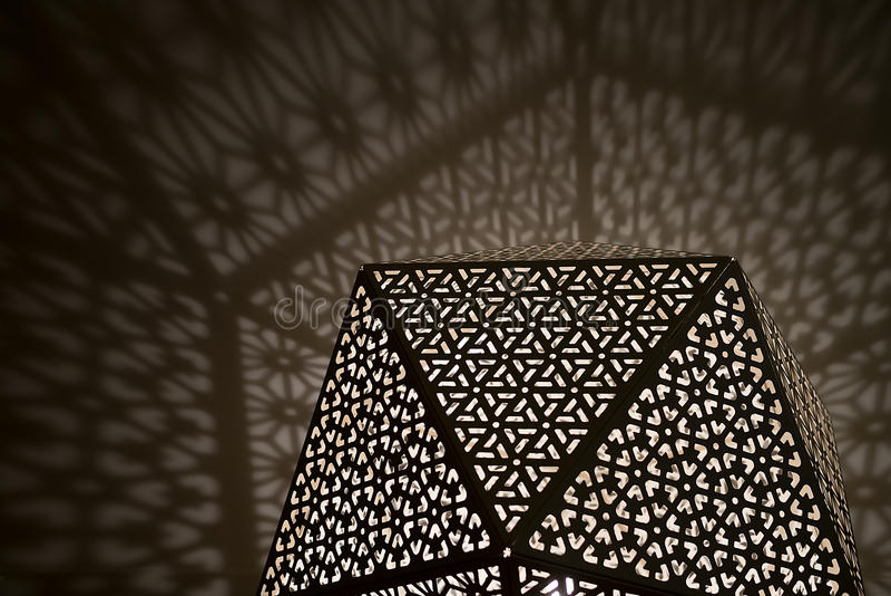 Арабские света с тенями бесплатная иллюстрация