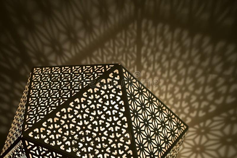 Арабские света с тенями стоковое фото