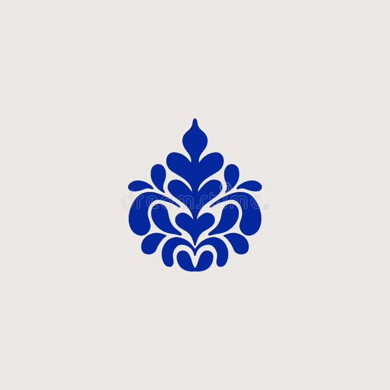 Арабский винтажный декоративный элемент дизайна иллюстрация штока