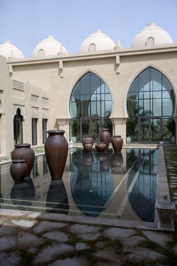 арабский дворец двора стоковые фото