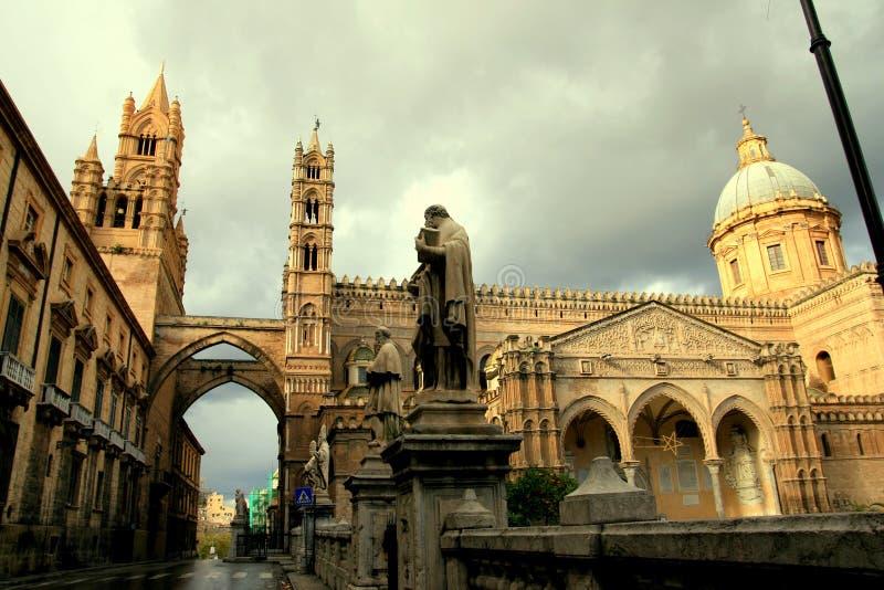 арабский нормандец palermo собора зодчества стоковое фото