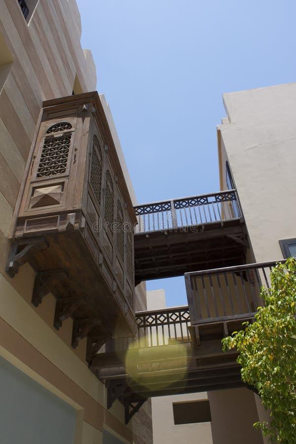 Арабский стиль в Красном Море Египте Марины Ghalib порта стоковые фотографии rf