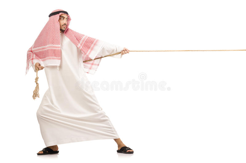 Арабский человек стоковое фото rf