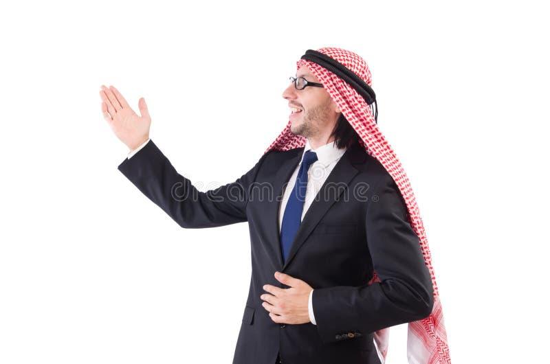 Арабский человек в спецификациях стоковая фотография rf