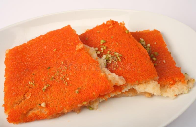 арабское kounafa десерта стоковая фотография
