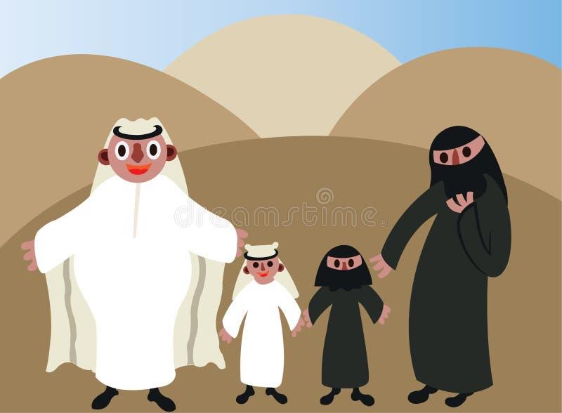 Арабы 1 иллюстрация вектора
