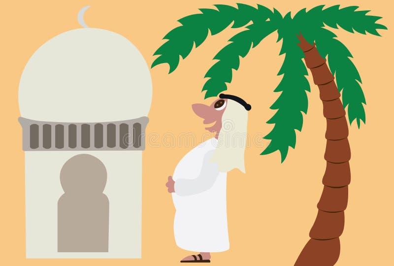 Арабы 2 иллюстрация вектора