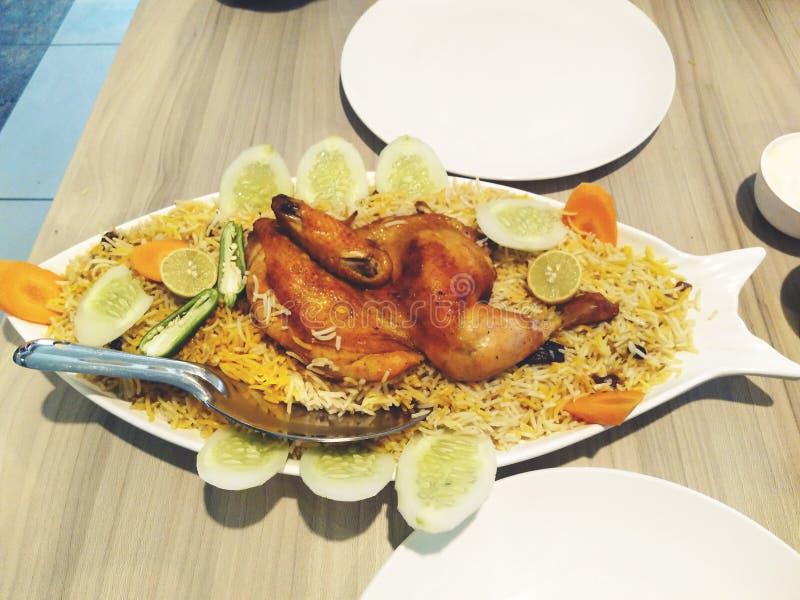 Аравийская еда стоковое изображение