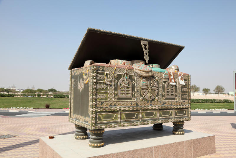 Аравийский комод в Дохе, Катаре стоковая фотография rf