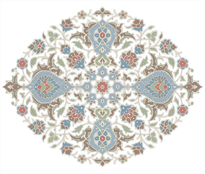 аравийский орнамент иллюстрация вектора