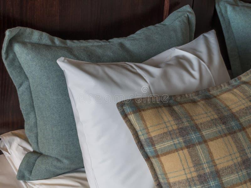 Аранжированные подушки стоковое фото