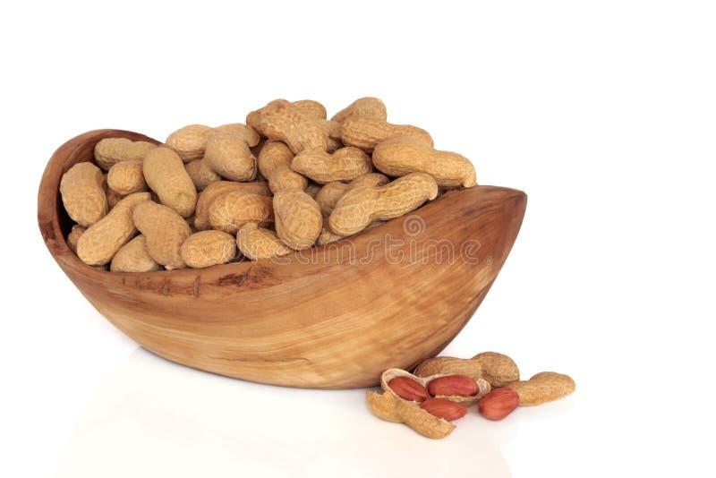 арахисы стоковая фотография