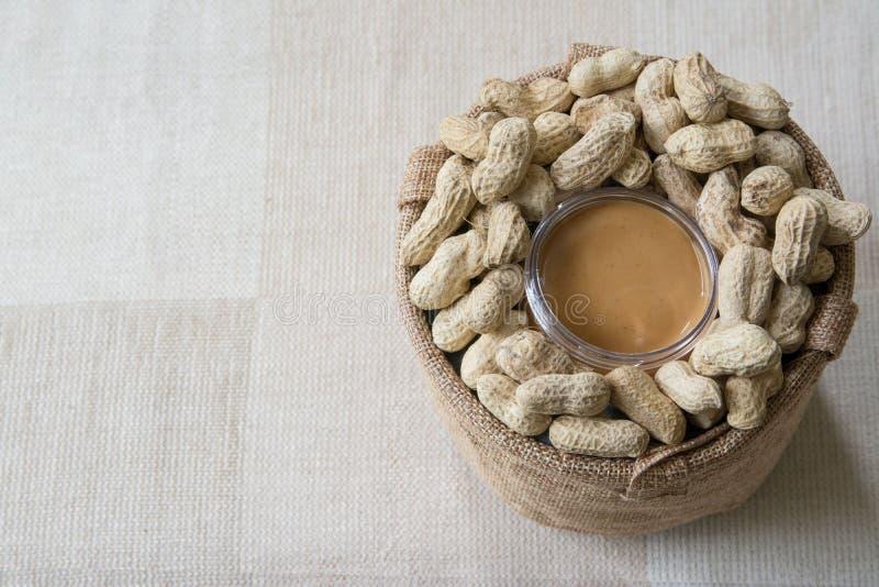 арахис масла сметанообразный стоковые фото