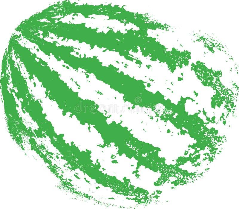 арбуз иллюстрация вектора