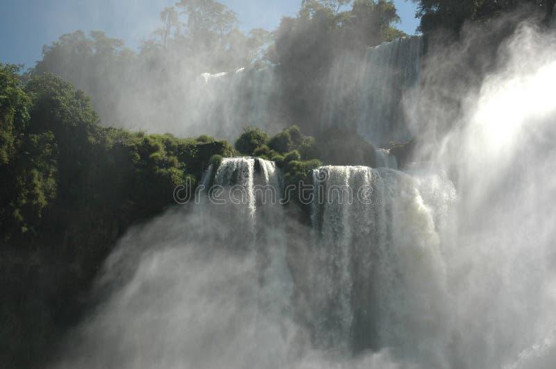 Аргентина падает iguazu стоковые изображения rf