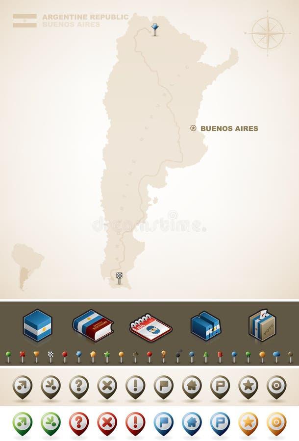 Аргентинская Республика Стоковое Изображение