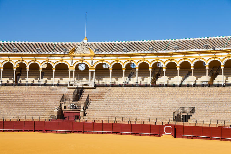 Арена в Севилье стоковое фото rf