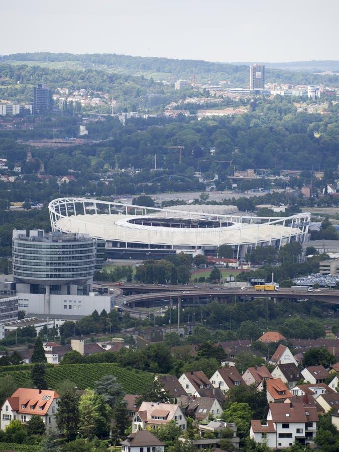 Арена Мерседес-Benz в Штутгарте стоковые изображения rf