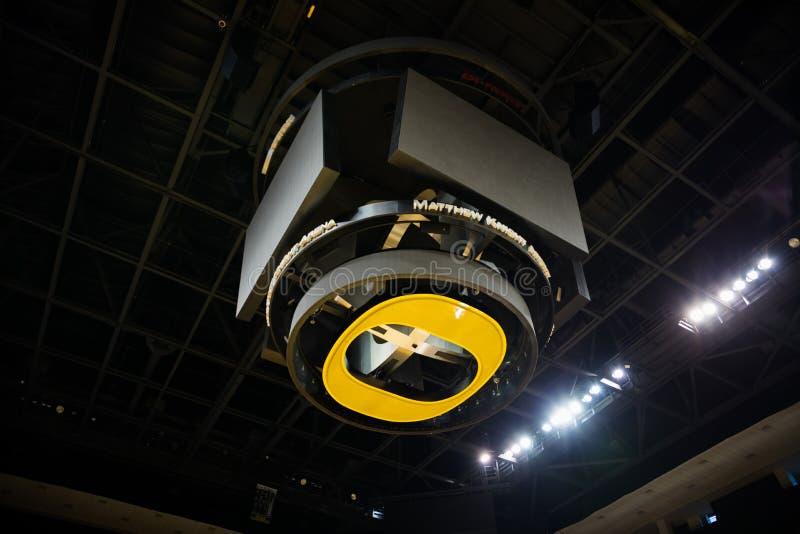 Арена рыцаря Мэттью в университете Орегона стоковая фотография rf
