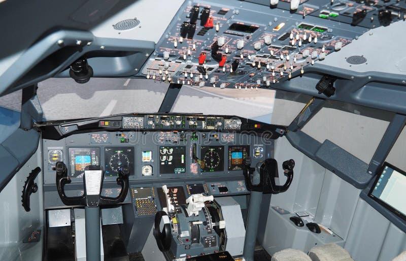 Арена самолета Боинга 737 стоковое фото
