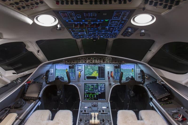 Арена частного самолета стоковые фото