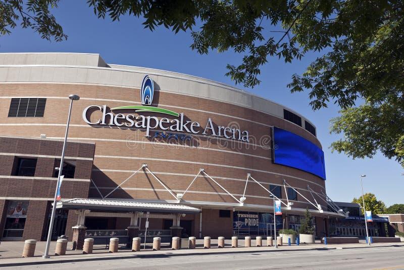 Арена энергии Chesapeake стоковые фотографии rf