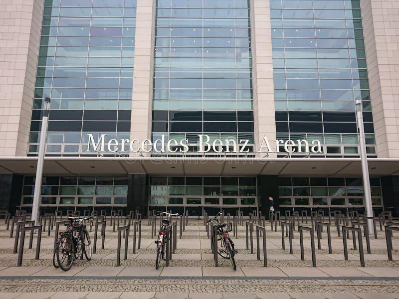Арена Benz Мерседес, Берлин стоковая фотография
