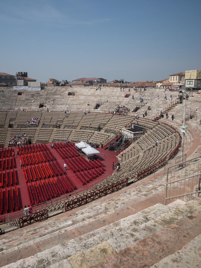 Арена di Верона стоковая фотография