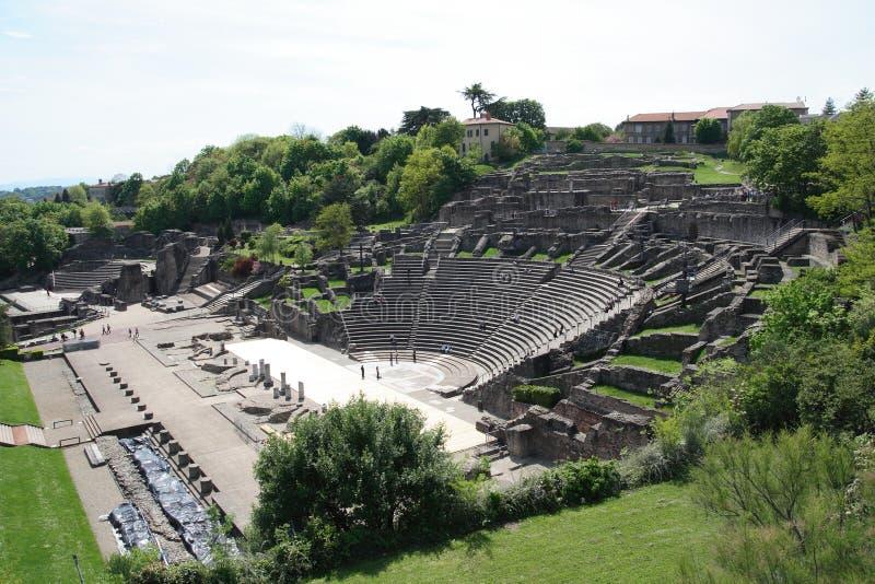 арены Франция lyon остают римские 2 стоковое изображение rf