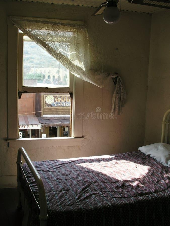 Аризона преследовала гостиницу oatman стоковое изображение rf